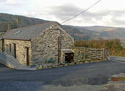 external view of this holiday cottage near betws-y-coed
